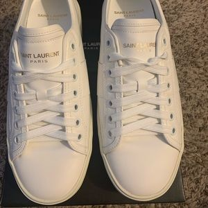 Saint Laurent sneaker off white leather